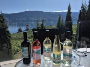 Stunning views with Okanagan Valley wine tasting at Kitsch Cellars