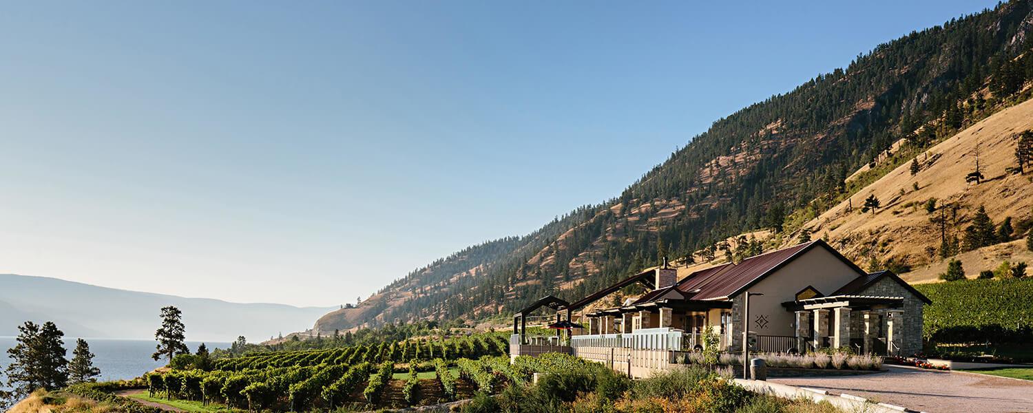 Fitzpatrick winery offers a scenic setting for Okanagan Valley wine tasting