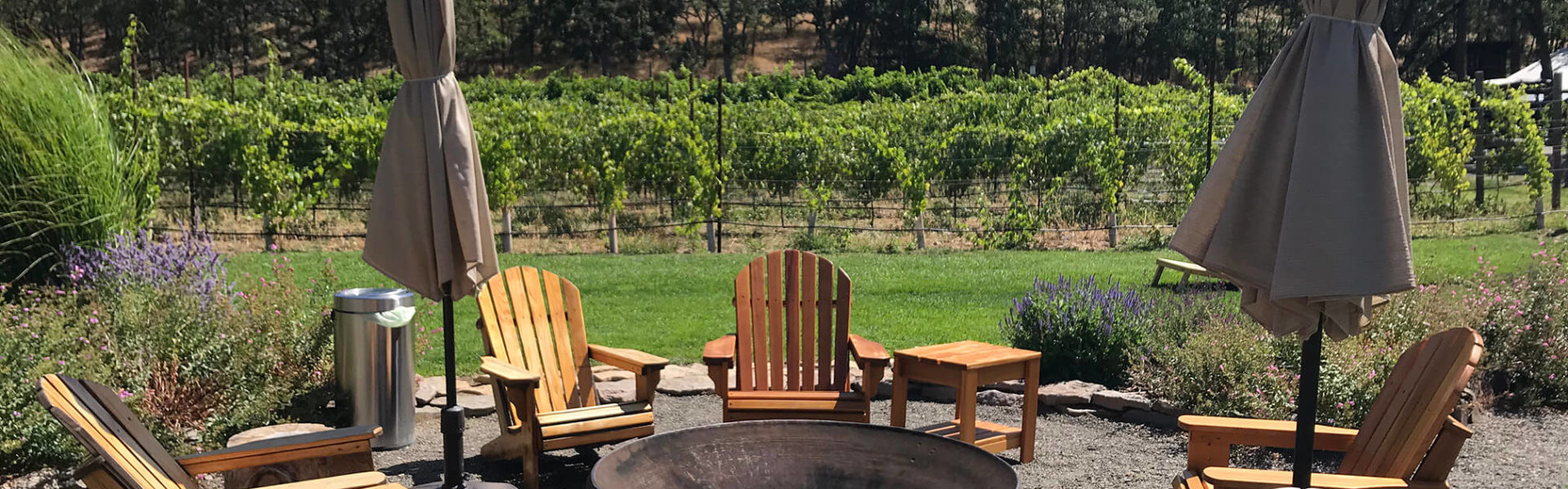 Syncline offers a comfortable setting for Columbia Gorge wine tasting