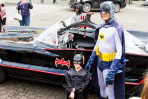 Batman impersonator Clint Young returns to Adam West Day in Walla Walla