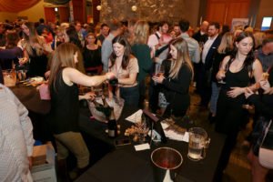 Revelers celebrate at Cornucopia's oyster shuck-off