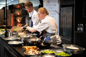 Chef demos are among the highlights of Taste WA, a top Northwest wine and food event.