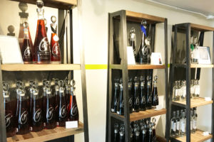 Ian MacNeil designed Glass Vodka's bottles to resemble decanters