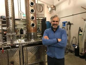 Ian MacNeil worked with Flavorman to create Glass Vodka Soda