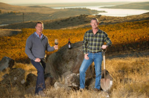 Will and Rob Mercer on family land in Horse Heaven Hills