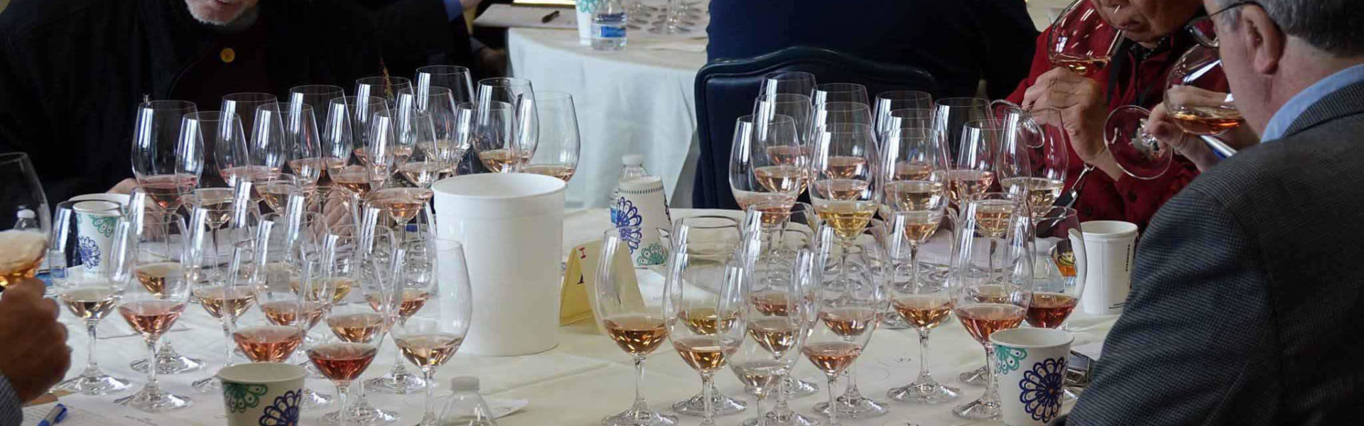Panelists evaluate selections at Seattle Wine Awards